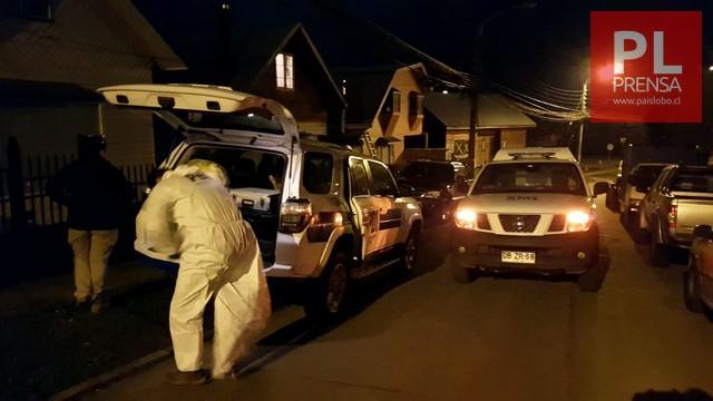 Osorno: parricidio en población Maximiliano Kolbe