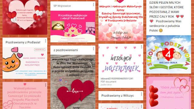 Międzyszkolna Poczta Walentynkowa