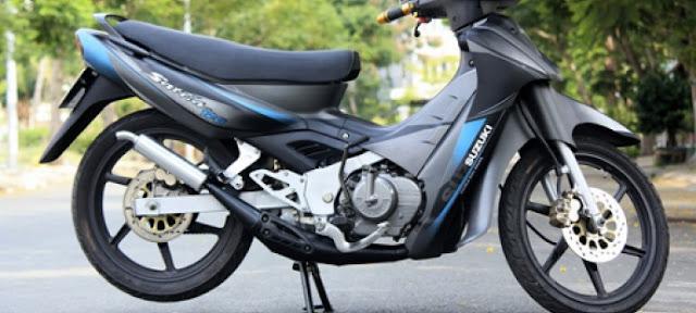 Suzuki Xì Po - Xe 2 thì giá rẻ