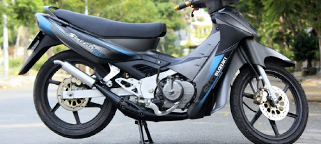 Suzuki Satria 120 (Su xì-po) xế nổ huyền thoại tại Việt Nam 1