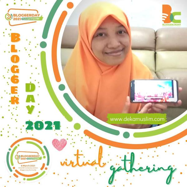 BloggerDay 2021, Perayaan 6 Tahun BCC Bersama Keluarga