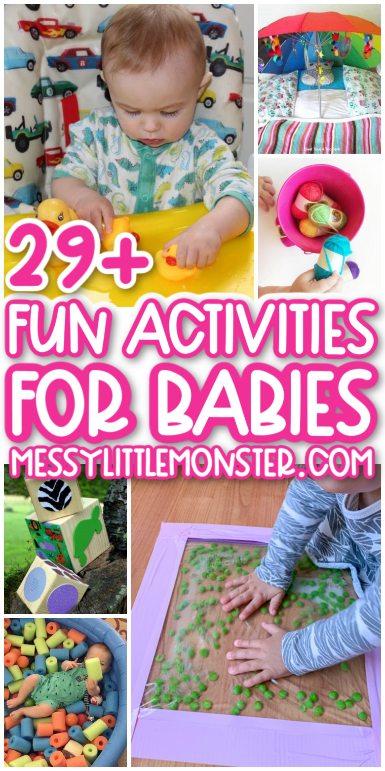 29 + fun activities for babies