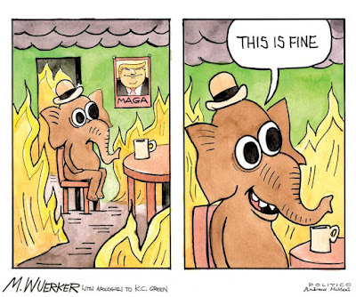 """This is Fine"" -- Matt Wuerker"