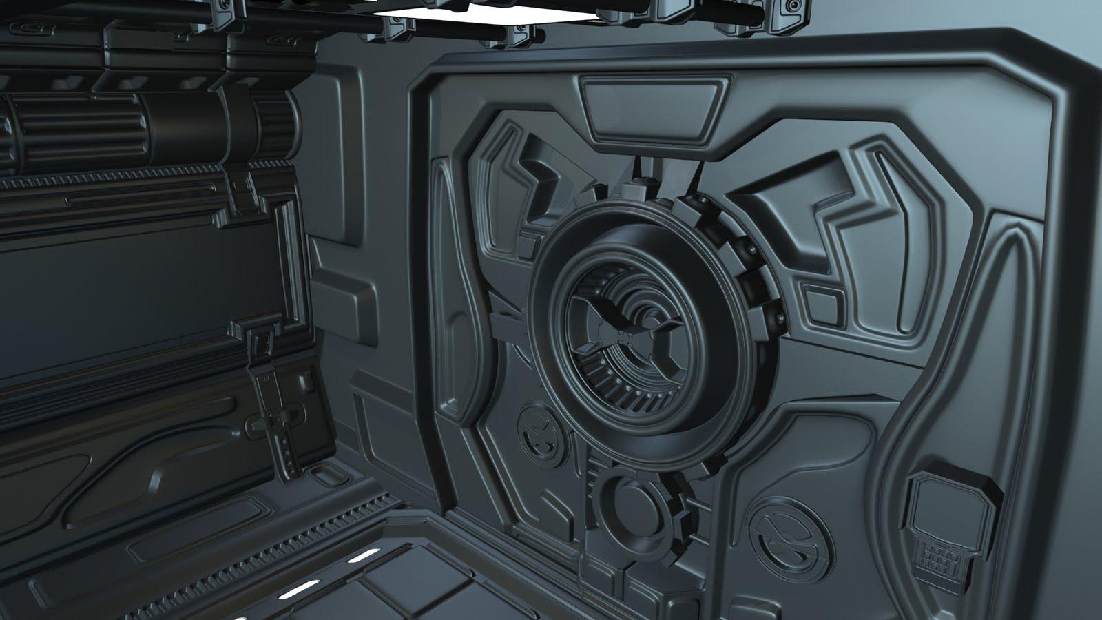 Matthias K 228 Sch 3d Environment Game Art Science Fiction