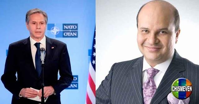 Secretario de Estado de EEUU exige la liberación de Roland Carreño