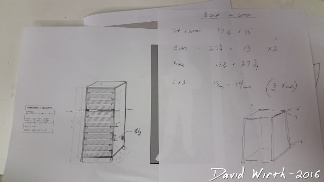 plans to build harbor freight tool chest, sorting tray cart, rolling tool cart build