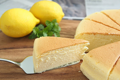 Resep Cheese Cotton Cake