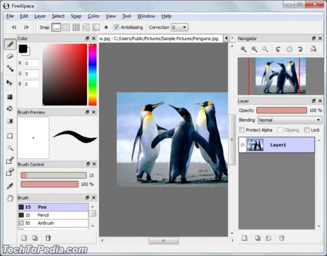 Free Digital Painting Software FireAlpaca 2.4 Download Free