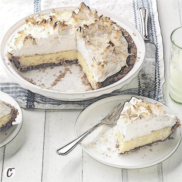Irresistible Coconut 🥥 Cream Pie 🥧