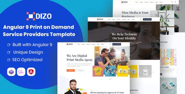 Best Print on Demand Service Providers Template