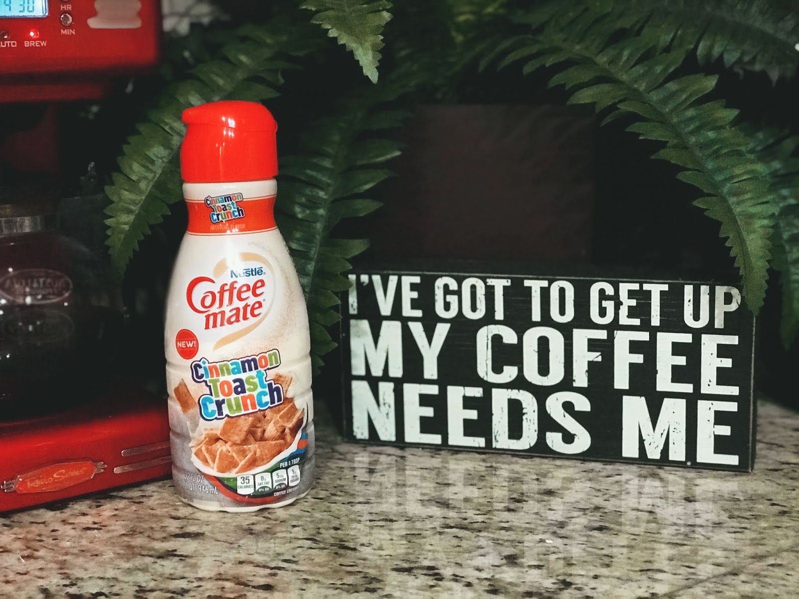 Happy Diaries: NEW Cinnamon Toast Crunch Creamer And Trying To Stay Optimistic!