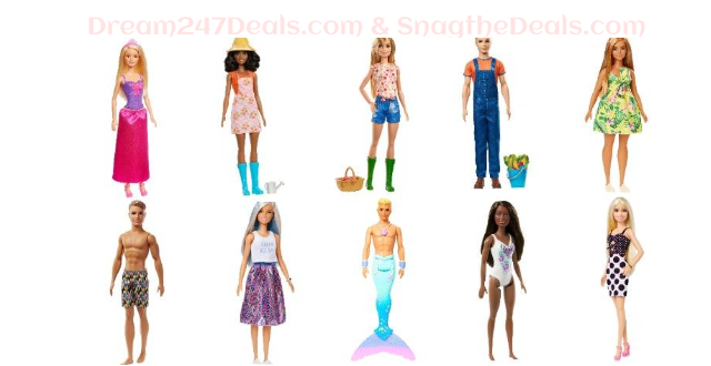 Barbie Dolls under $10 at walmart