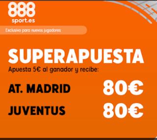 888sport superapuesta champions Atletico vs Juventus 18 septiembre 2019