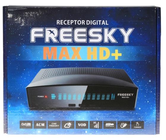 FREESKY MAX HD PLUS NOVA ATUALIZAÇÃO V1.39 - 24/10/2019