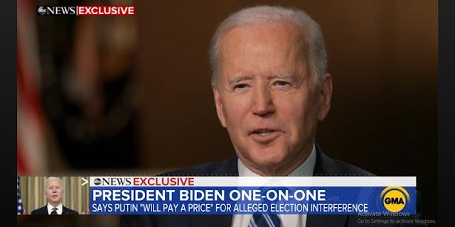 Joe Biden Yakin Putin Punya Jiwa Pembunuh