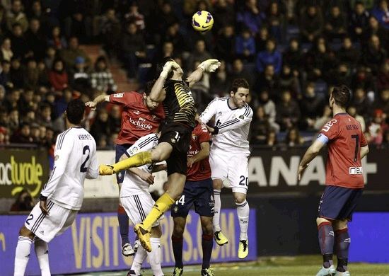 Real Madrid could not beat Osasuna