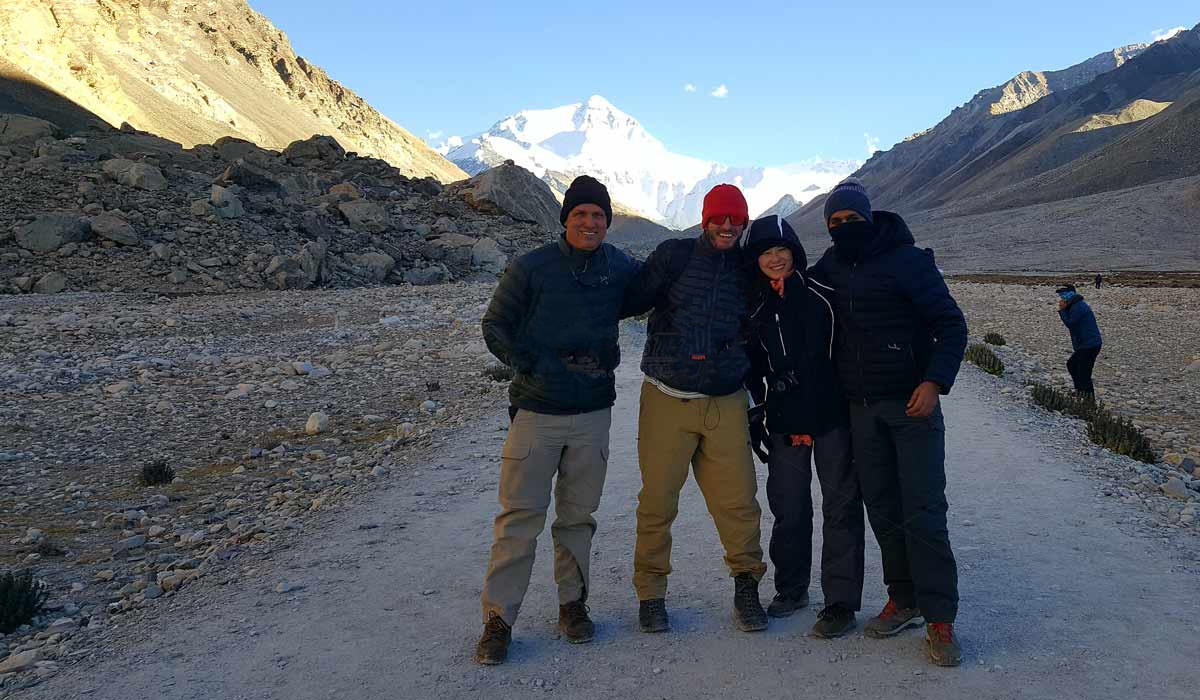 You can go for a trip to Mount Everest base camp with your friends, it must be a great memory of you.