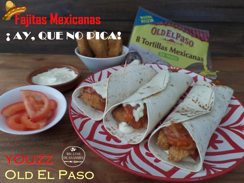 Fajitas mexicanas ¡Ay, que no pican!