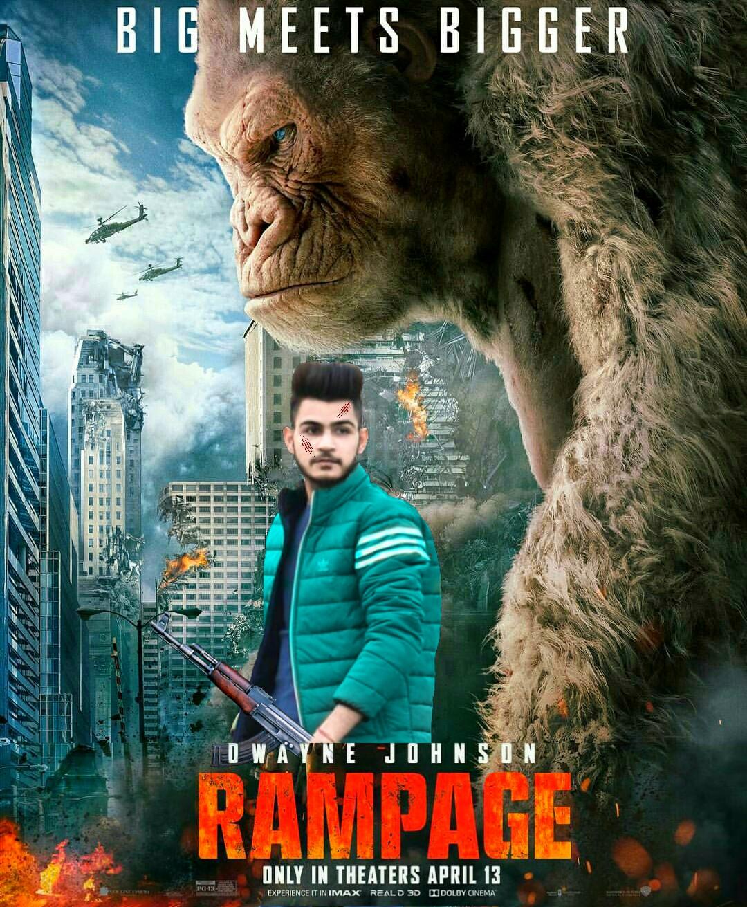 movie poster editing