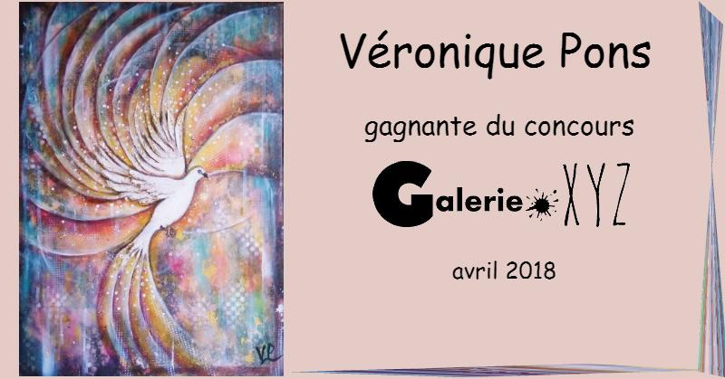 La Colombe de Véronique PONS et le Concours Galerie XYZ