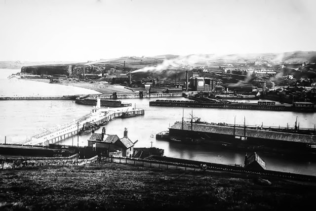 Whitehaven Harbour, 1940