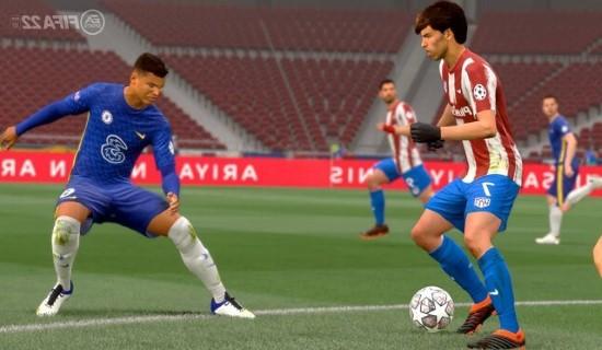 لقطة شاشة للعبة FIFA 22 للكمبيوتر