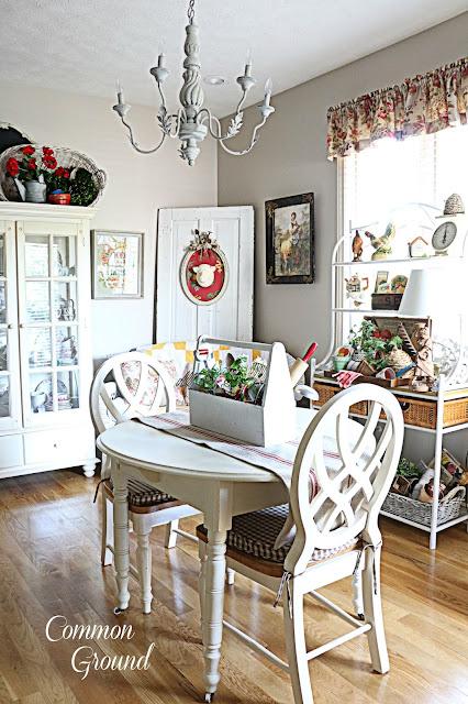 Common Ground Late Summer Kitchen Sitting Area