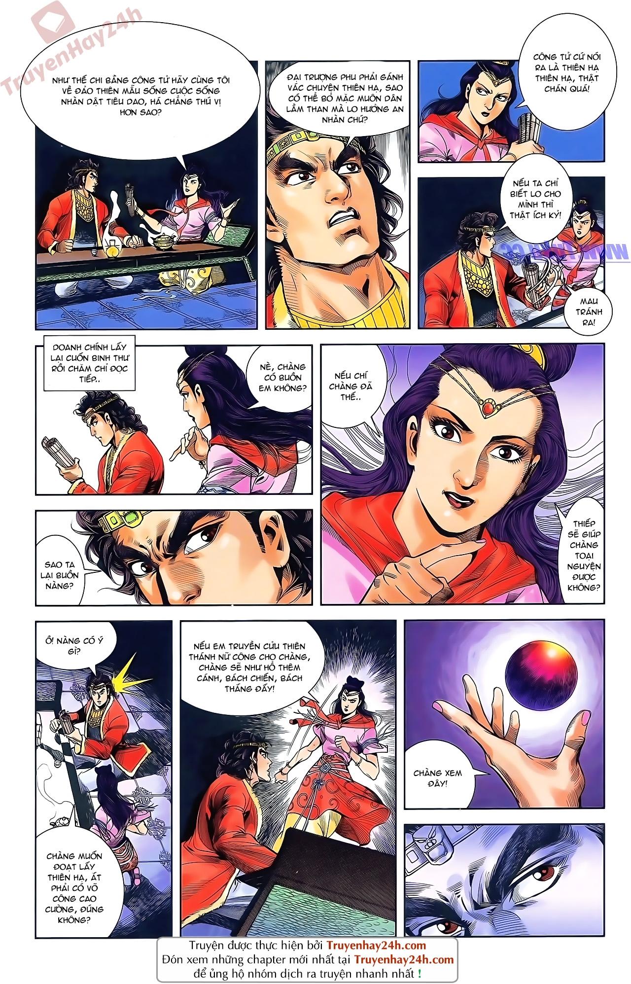 Tần Vương Doanh Chính chapter 48 trang 11