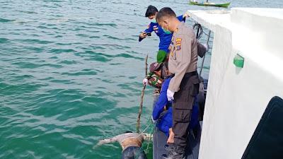 ABK Yang TenggelamAkhirnya Ditemukan di Perairan Laut Tanjung Ledong.