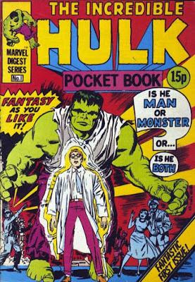 Incredible Hulk pocket book #1