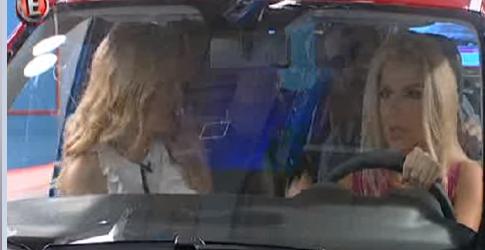 Η Πάνια τράκαρε μέσα στο πλατό το αυτοκίνητο της κλήρωσης!! [βίντεο]