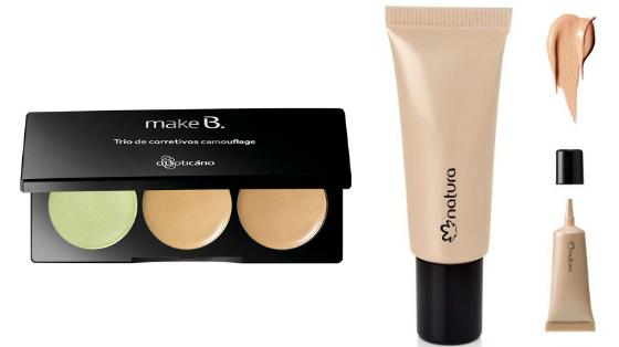 corretivo maquiagem pele com acne