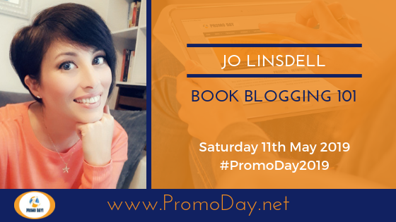 #PromoDay2019 Webinar Book Blogging 101 with Jo Linsdell