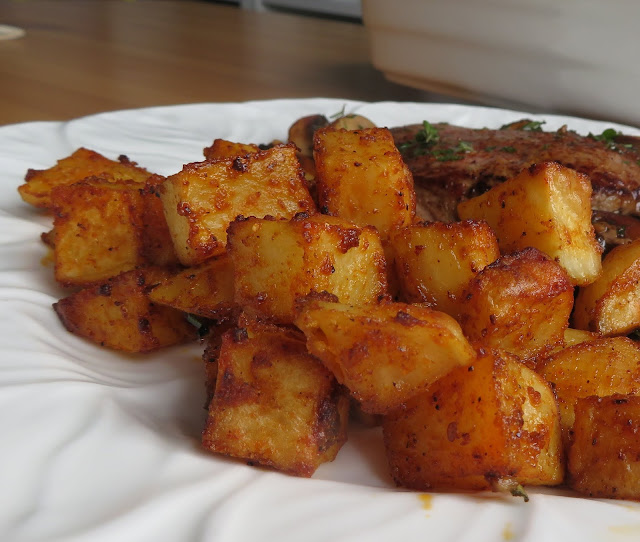 Spiced & Crispy Roasted Potatoes