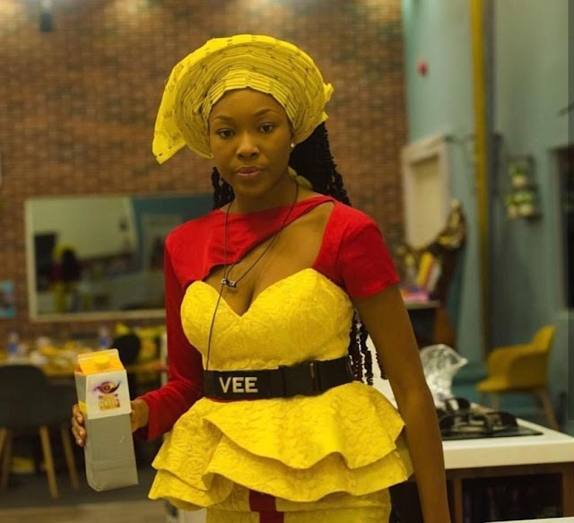Vee joins the list of housemates to be evicted from the show…