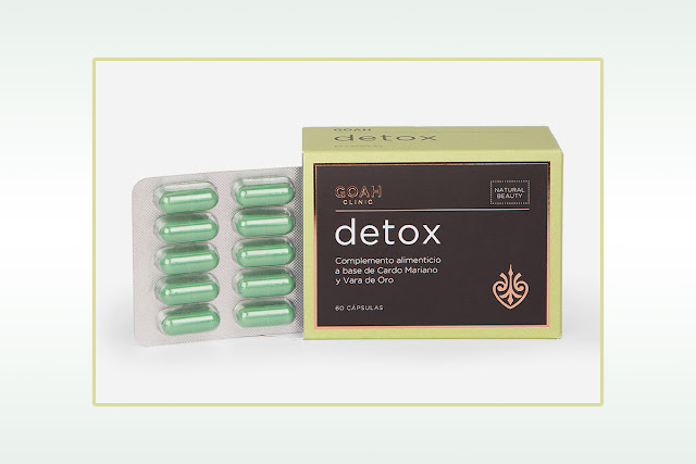 Cápsulas Detox Goah