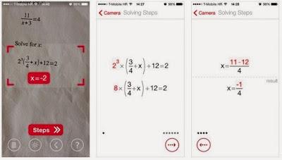 تطبيق حل مسائل الرياضيات المعقدة للأندرويد, Photomath apk pro