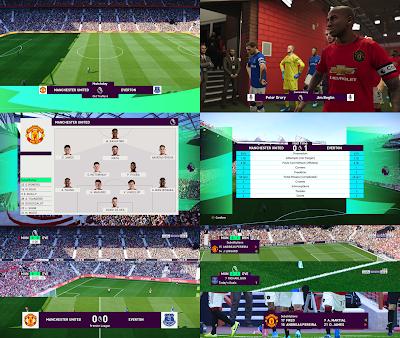 PES 2020 Scoreboard Premier League by Spursfan18