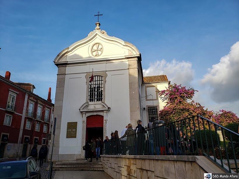 Igreja de Santa Luzia no Miradouro de Santa Luzia - o que  fazer em Lisboa