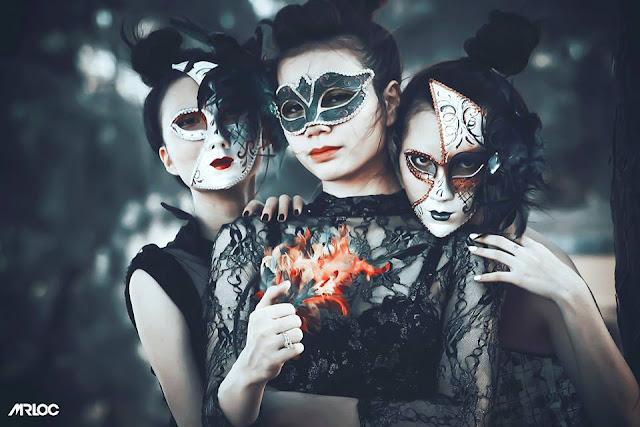 Ba cô nàng mặt nạ bí ẩn từ đâu đến | Style Art