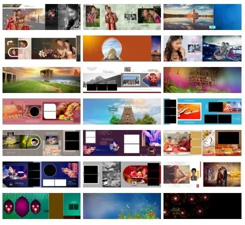 Best 100 12x36 Wedding Album PSD Sheets Download