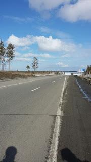 На объездной, соединяющей Шелехов и Ангарск