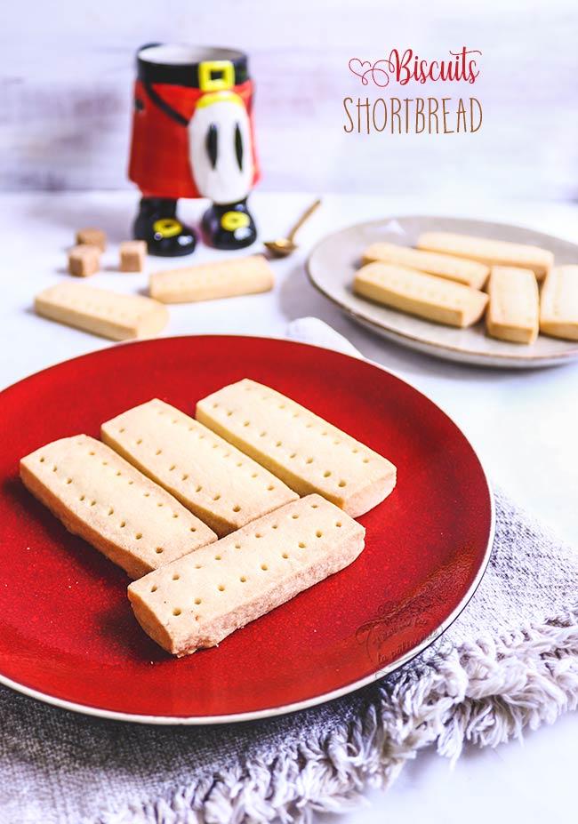 shortbread recette