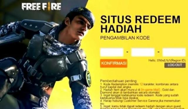 Terbaru! Kode Redeem FF Berhadiah M1014