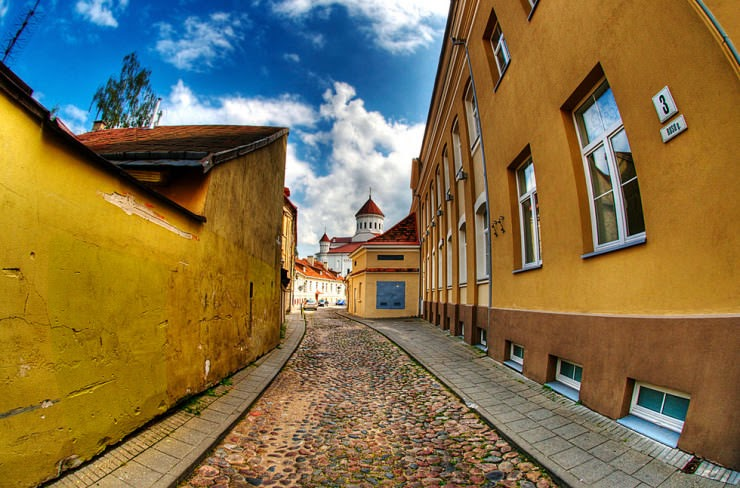11. Vilnius, Lithuania - 29 Most Romantic Alleys to Hike