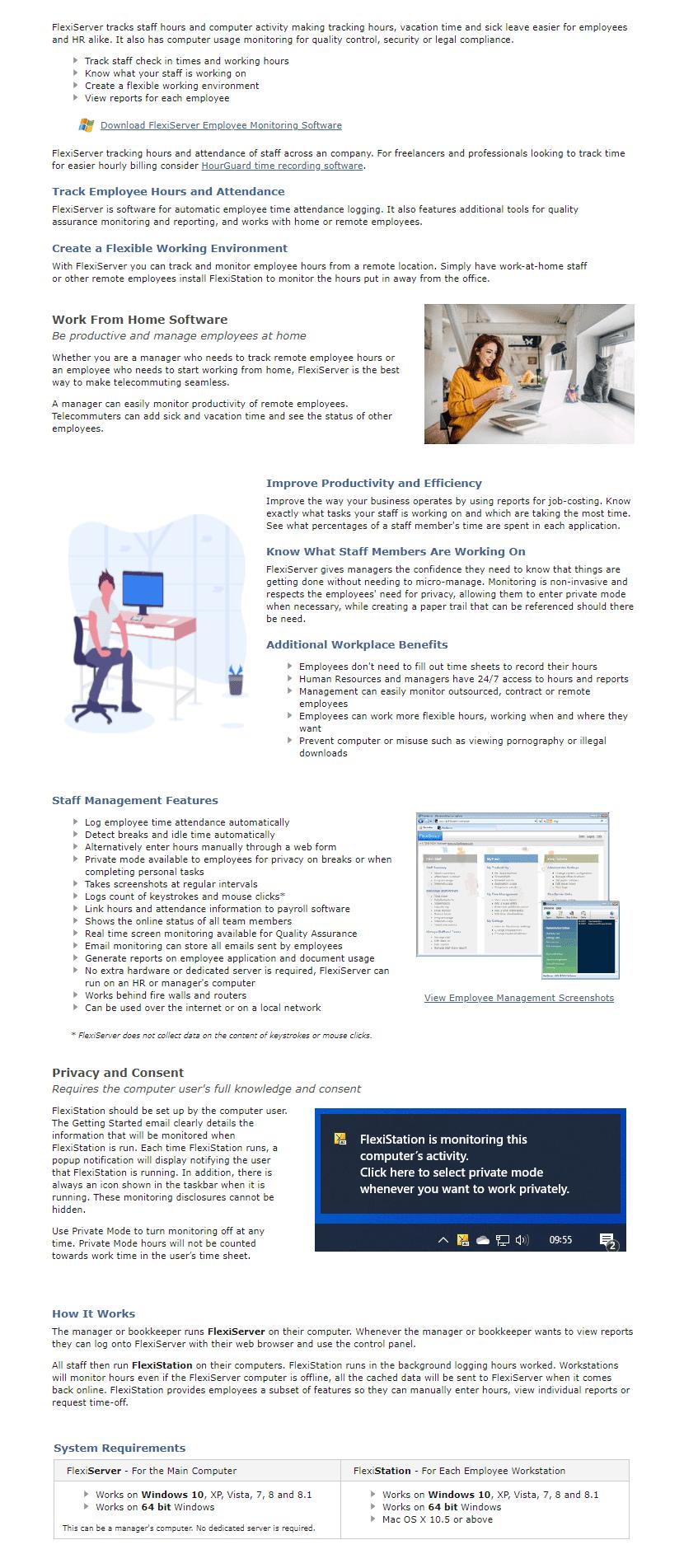 FlexiServer Productivity & Attendance Software Registration Code