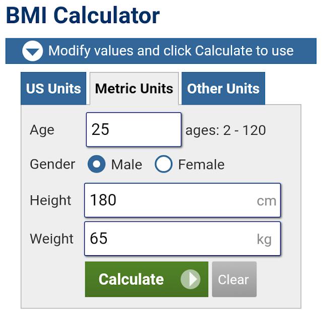 Online BMI Calculator | Calculate Your BMI Online