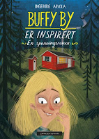 Omslag Buffy By er inspirert