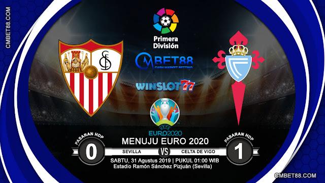 Prediksi Bola Sevilla VS Celta De Vigo 31 Augustus 2019