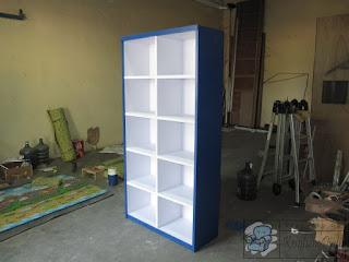 Lemari Rak Arsip Kantor Tanpa Pintu Furniture Semarang